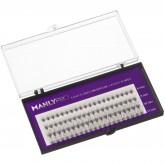 Набор ресниц в пучках Manly Pro шелк 6, 8, 10, 12 мм РП06