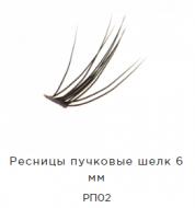 Ресницы пучковые Manly Pro шелк 6 мм РП02