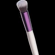 Многофункциональная круглая кисть для кремовых и сухих текстур, растушевки румян и коррекции лица Manly Pro К124
