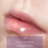 Блеск для губ прозрачный Жидкое стекло Manly Pro LG01 8г