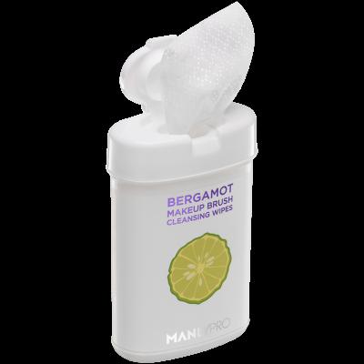 Экспресс-очищающие салфетки для кистей с маслом бергамота Manly PRO КО15 50шт: фото