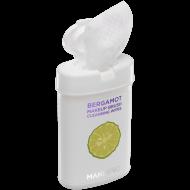 Экспресс-очищающие салфетки для кистей с маслом бергамота Manly PRO КО15 50шт